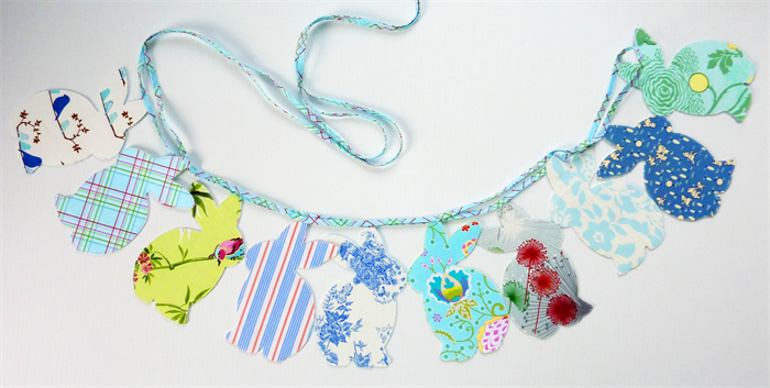 how to make double sided bunting