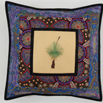 Australiana cushion cover - 'Yalke'