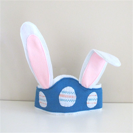 Bunny Ears For Boys, Easter Hat, Felt Crown