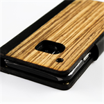Handmade Wood and Genuine Kangaroo Leather Phone Case iPhone 5 / 5s