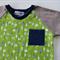 Retro Raglan Boys Shirt. Tree Pattern. Cute Clothes for Little Boys. Size 3 sale