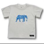 SIZE 3 Hand printed Elephant Tee