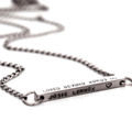 New Baby Gift, Birth Details Necklace, Christening Gift, Bar Necklace, New Mum