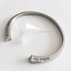 Cremation Cuff, Remembrance Gift, Pet Loss, Family Loss, Missed Loved One Urn