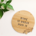 Mum Card & Gift Bamboo Home Bedroom Decor Mother's Mothers Day Happy Birthday