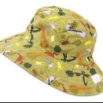 Toddler Hat ~ Camo Bugs ~ 55cm - Wide Brim