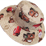 Toddler Hat ~ Cars ~ 48cm - Wide Brim