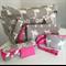 Grey Giraffe Nappy Bag Wallet and Mat. Lots of colour Choices