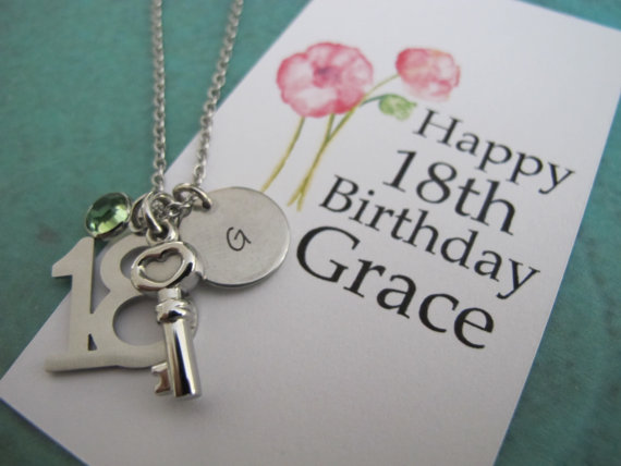18th birthday gifts - 18th birthday gifts for her - daughter gift - 18th key nec | Creations138 | madeit.com.au & 18th birthday gifts - 18th birthday gifts for her - daughter gift ...