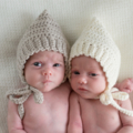 Vintage Style Pixie Bonnet | Made to Order | NB to 4yrs | Custom Colour