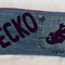 Funky Jeans Pencil Case - Gecko
