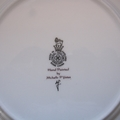 Hand painted Royal Doulton plate featuring a White Rabbit