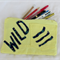 Funky Jeans Pencil Case - Wild yellow and blue
