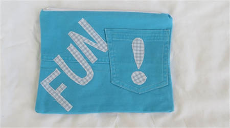 Funky Jeans Pencil Case - Fun