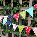 Bunting, flags or banner for child's bedroom, garden, birthday or everyday