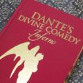 Dante's Inferno - Divine Comedy. Handbag made from a book. Literature