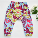 *SALE* Boho Harem Pants - Fancy Floral Blues