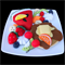 FELT FOOD FRUIT SALAD PIKELET  / PANCAKE