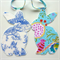 Bunny Garland, Baby Shower Bunting, blue tape, double sided fabric