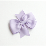 Purple Pinwheel hair bow