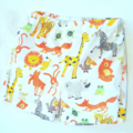 Zoo animals cotton shorts  Size 1/2. With back pocket. Ready to go☺