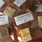 Holiday Soaps ~ Mini Single Use Soap Slices (7 pieces) ~ Choice of Soap Type