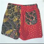 Cotton Shorts - unisex shorts - toddler shorts - size 1-2 - indigenous shorts