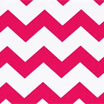 Fitted Sheet For Bassinet - Pink Chevron