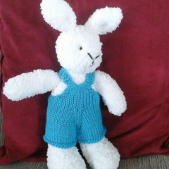 Craig the Easter Bunny Toy Softie