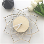 Bamboo Lotus Clock