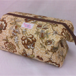 Floral - Retreat Bag - Toiletries / Make-up / Toys / Craft / Pencil Case