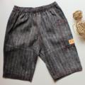 UpDown Pants WASHED DENIM STRIPES Size 1