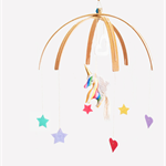 LARGE Rainbow Unicorn ♥ Handmade Mobile (custom)
