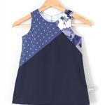 Size 2 Denim Dress / Pinafore