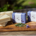 Handmade Olive soap - Lavender essential oil. Cold Processed.