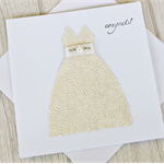 Wedding card / engagement card / Wedding dress card / Bride card / Congrats