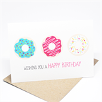 Birthday Card Girl - Donuts with Sprinkles - HBC174
