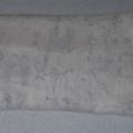 Bamboo muslin baby wrap / swaddle / receiving blanket / Shawl - Safari! White.
