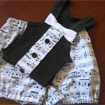 JUMPED UP Singlet and Nappy Cover/Pants Set Size 0
