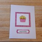 Fun Cup cake Birthday card