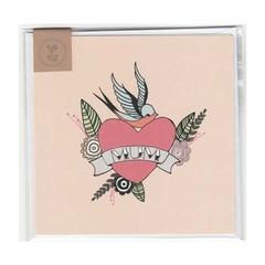 MUM TATTOO - MINI CARD