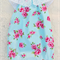 Floral Roses Blue Baby Darling Playsuit / Romper Size 1