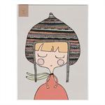 Hooded Chloe (Mini Poster)