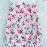 'Sweet Pea' Floral Roses Darling Playsuit / Romper