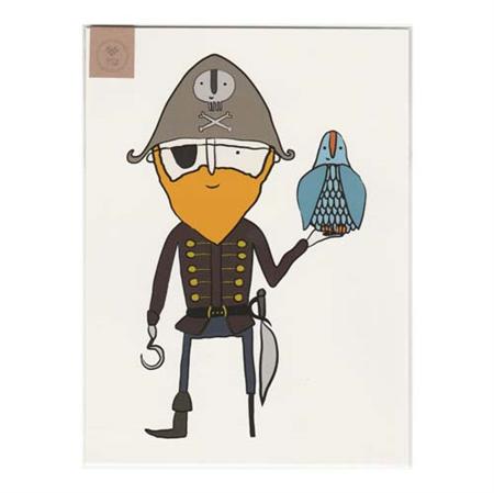 Pirate Roger...Arr Art Print