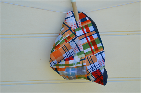 Plaid unisex babies hat - babies gifts, sunhat,