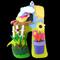 LARGE FELT LETTER PLAQUES / SPRINGTIME / SUNNY DAY / FLOWERS / GARDEN
