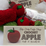 D.I.Y. Crochet Apple Kit.