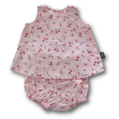 CLEARANCE... SIZE 0 Sweet Cherries Baby Cotton Swing Set FREE POST