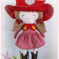 Cowgirl Softie Doll